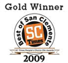 Best Pet Sitter of San Clemente Award 2011